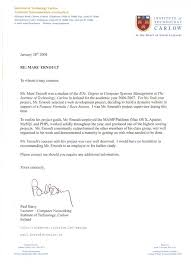 sample law letter recommendation about letter format