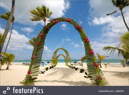 wedding archway celebration wedding archway on stock image