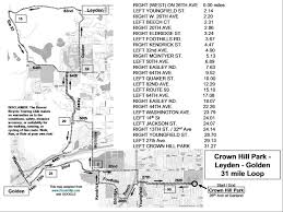 Map Your Running Route by Denver Bicycle Touring Club Inc Route Map Library