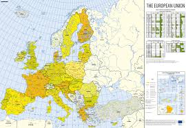 Map Of The Europe by Europe Equal Futures Partnership
