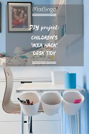 diy project children u0027s u0027ikea hack u0027 desk tidy