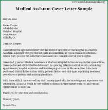 cover letter for resume for medical assistant thank you cover