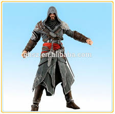 Ezio Halloween Costume Customized Collectible Neca Assassins Creed 3 Figure Statue Ezio