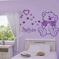stickers chambre bébé nounours stickers muraux nounours my