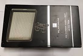 platinum led video light amazon com platinum on camera video light pt dvl308c2 camera