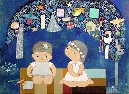 festival decorations picture for children