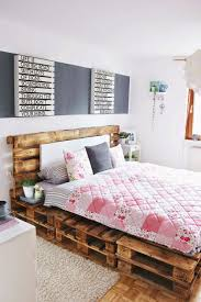 bedroom pallet bed frame plans how to make a pallet bed step by