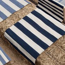 Navy Outdoor Rug Striped Indoor Outdoor Rug Home And Interior Home