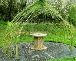 willow gazebo how to build a living summer shade structure modern farmer