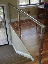 Banister Marine 38 Edgy Cable Railing Ideas For Indoors And Outdoors Digsdigs