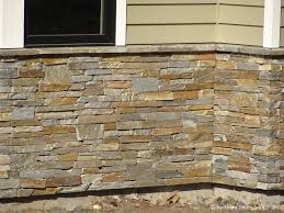 wall decor various color and shape of stone veneer panels for