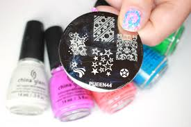 tie dye nail art smackerlacquer