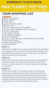 Simmer Pot Recipes Mini Turkey Pot Pies Recipe Tastemade