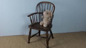 Childs Antique Chair Antique Georgian 19th Century Ash And Elm Child U0027s Windsor Dolls