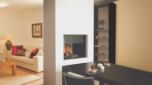fireplace best double sided fireplaces home design very nice