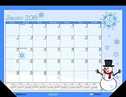 desk pad calendar 2018 house of doolittle 2018 monthly desk pad calendar seasonal 22 x 17