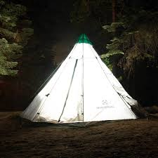 12 foot diameter 7 person family camping teepee tent winterial com