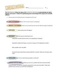 scientific method activities notebook pages 2nd 3rd 4th