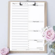 free planner template digital library green and lyme untimed daily planner template