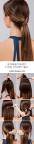 26 lazy hairstyling hacks 7 effortless hair hacks for lazy mornings lazy ponytail