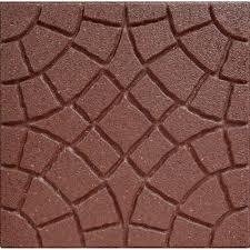 envirotile 18 in x 18 in bella rocca terra cotta paver mt5000740