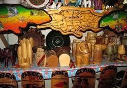 jamaican wood sculptures silent waters villa montego bay jamaica activities shopping
