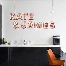 Bedroom Wall Letter Stickers Retro Cinema Marquee Letters Wall Sticker By Oakdene Designs