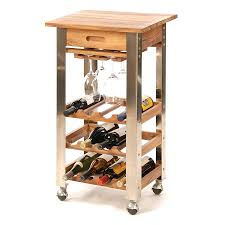 wine rack kitchen cart with wine rack white kitchen cart with