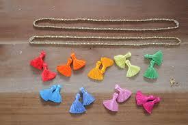 tassel necklace make images Diy beaded tassel necklace the stripe jpg