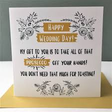 happy wedding day happy wedding day card toasting prosecco by the new