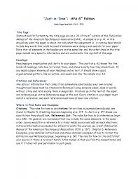 cover letter apa format sample essay apa format sample essay paper