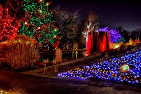 barnsley gardens christmas lights holiday light shows in eight states al ar az ca co de fl and