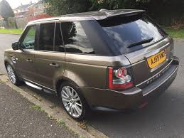 bronze range rover used land rover range rover sport suv 3 0 td v6 hse 5dr in luton