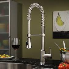 Stainless Steel Kitchen Faucets Epic Stainless Steel Kitchen Faucet With Pull Down Spray 55 For
