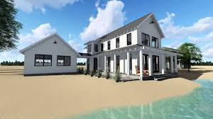 farmhouse plans with photos modern farmhouse plans for house designs 14654rk front1 1509654350