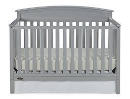 Graco Convertible Crib Graco Benton Convertible Crib Pebble Gray Baby Cribbed