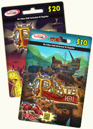 pre paid cards prepaid cards pirate101 pirate online