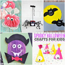 Spooky Halloween Crafts 20 Halloween Crafts For Kids