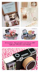 creative meaningful and cheap diy gifts for friends and family