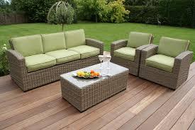 Maze Rattan Milan Kingston  Seat Sofa Set Maze Living - Wicker sofa sets