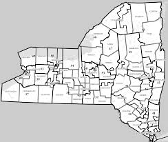 New York Map Districts by Nysspa District Map New York State Society Of Physician Assistants