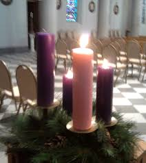 advent candle lighting order the story behind the pink advent candle catholic hotdish