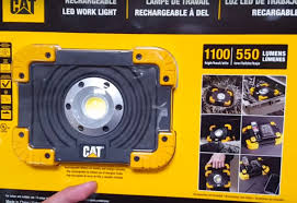 work zone rechargeable led work light costco cat 1100 lumen led work light and charger youtube