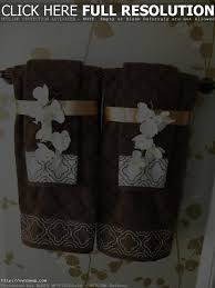Bathroom Towel Display Decorative Bath Towels With Beads Best Bathroom Decoration