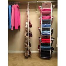 Wardrobe Organiser Ideas by Lori Greiner 2 Piece Complete Wardrobe Organiser Set New Green