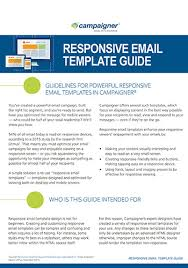 custom enterprise email templates campaigner
