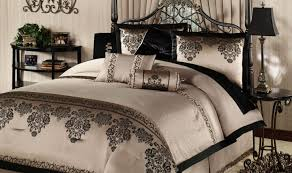 bedding set beautiful grey and green bedding 7 piece queen