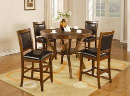 Bar Height Dining Room Table Chair Dining Room Tall Sets For 4 Sale Eiforces Wonderful