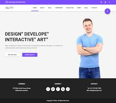 Resume Website Template Free Resume Web Template Elegant Resume A Personal Category Flat
