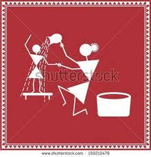 Warli Art Simple Designs Warli Painting Designs Google Search Warli Designs Pinterest
